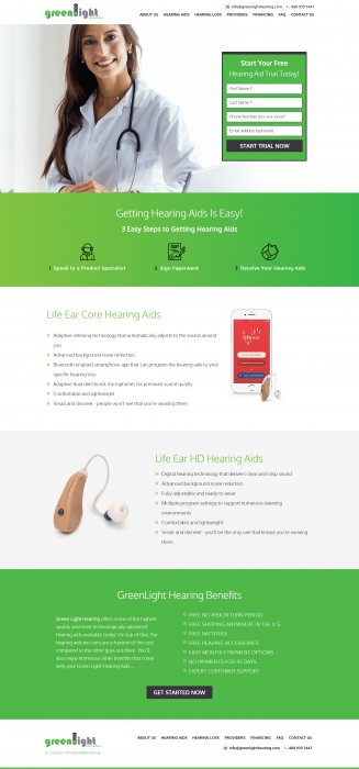 Green Light Hearing – Getting Hearing Aids Easy
