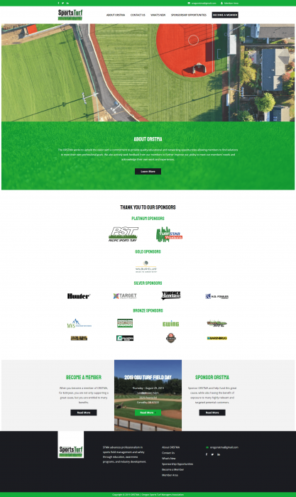 ORSTMA Oregon Sports Turf Managers Association – Oregon Sports Turf Management Association
