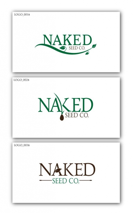 Naked Seed Co. Logo Study