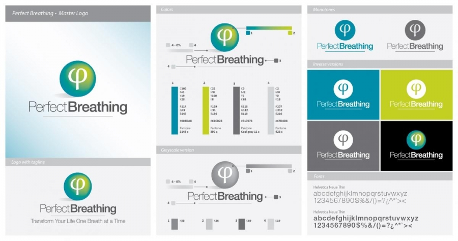 Perfect Breathing Logo Guide