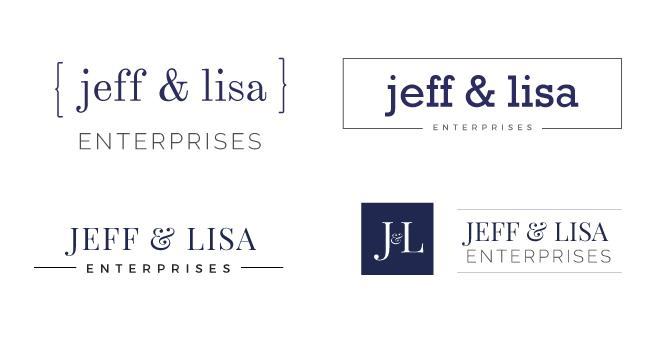 Jeff and Lisa Logo Study